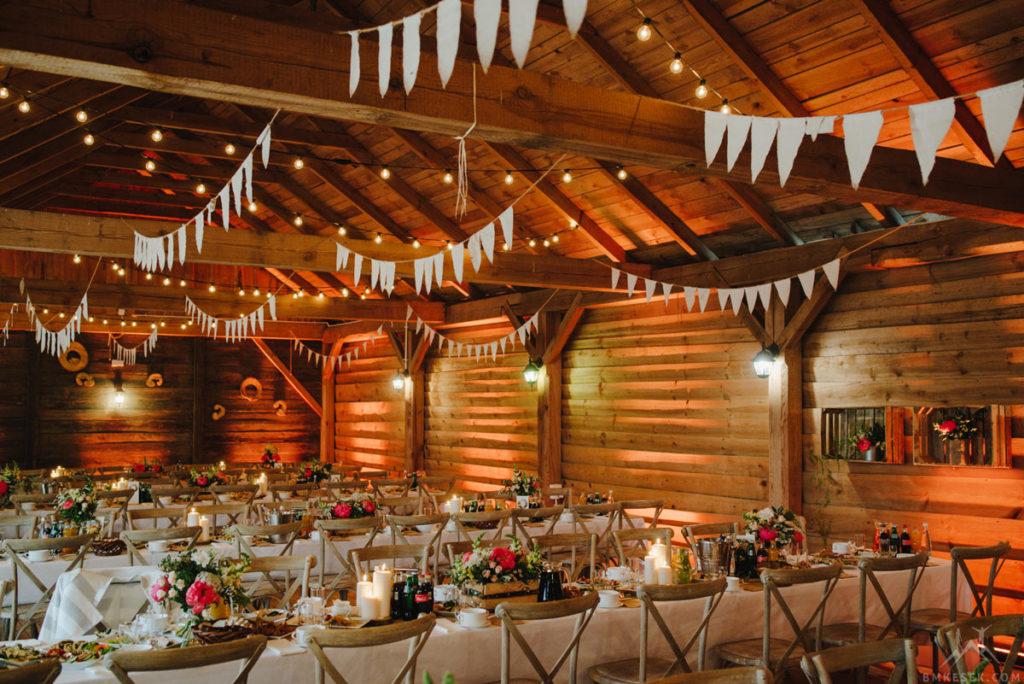 rustykalna dekoracja stodoły
