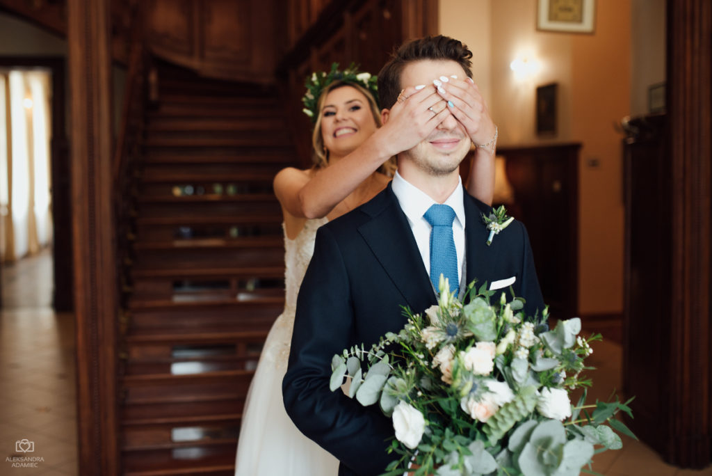 spotkanie przed ślubem pary młodej
