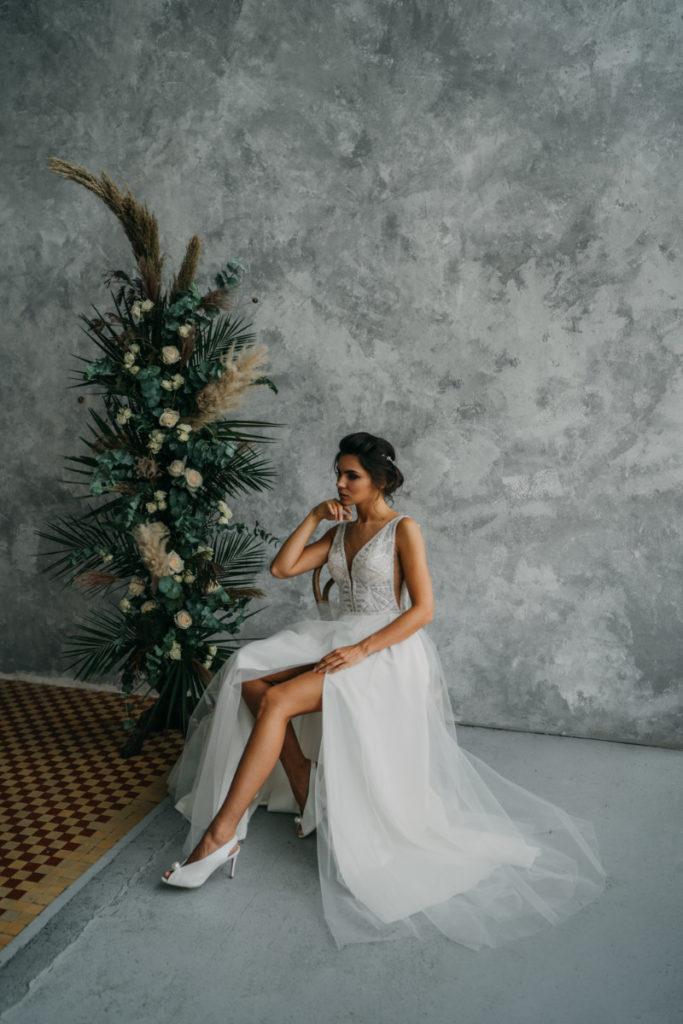 sesja reklamowa sukien ślubnych