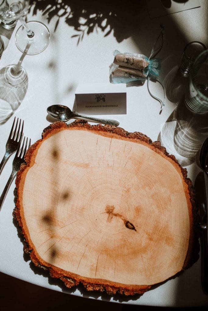podtalerz z plastrów drzewa brzozowego